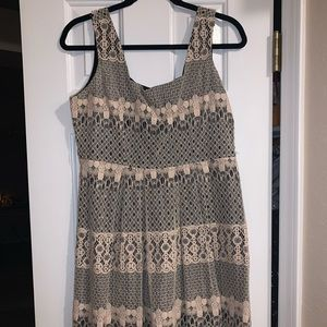 Lace dress. Large. Dry cleaned